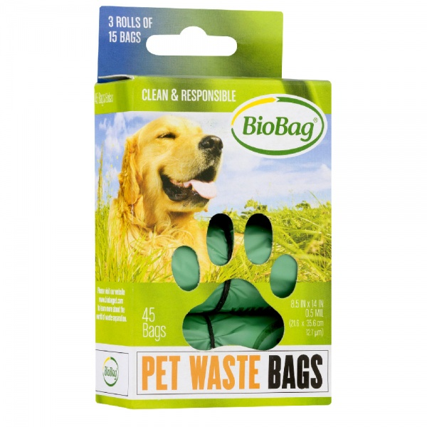 BioBag Dog Waste Bags - Standard (45 ct)