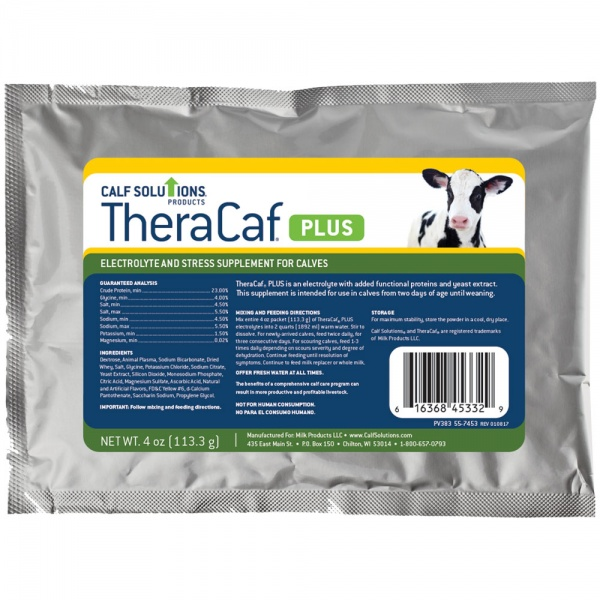 TheraCaf PLUS Electrolyte & Stress Supplement for Calves (4 oz)