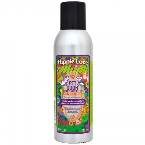 Pet Odor Exterminator - Hippie Love Spray (7 oz)