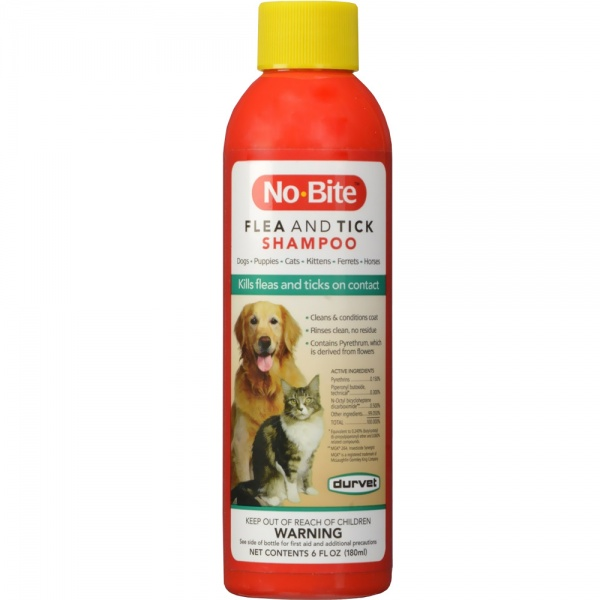 Durvet No-Bite Flea & Tick Shampoo (6 fl oz)