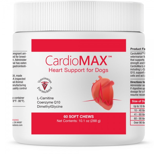CardioMAX Heart Support for Dogs (60 Soft Chews)