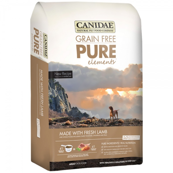 Canidae Grain Free PureElements Adult Dry Dog Food - Lamb (12 lb)